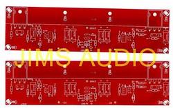 Symmetric J-FET input MOSFET ClassA amplifier PCB 2pc !
