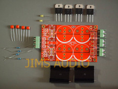 Bridge rectification PSU PCB using 4 ultrafast diodes partial kit!