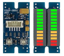 12-segment 3-color 2-channel VU meter with peak hold 1 piece !!