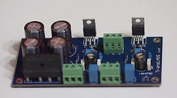 LM1875T 25W+25W stereo power amplifier assembled board w/power supply !