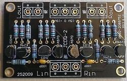JFET input Cascoded buffer board assembled !