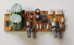 Low Pass electronic crossover for subwoofer freq 50Hz to 150Hz adjustable assy !