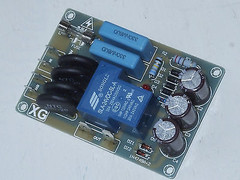 Soft starting switch assembled heavy duty for high power/current amplifier !