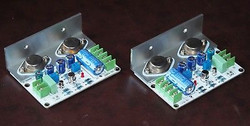 JLH 1969 class A amplifier stereo high quality PCB components assembled !