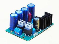 Ultra Low noise( 0.8uVrms 10Hz - 100KHz) +5VDC power supply board assembled  !