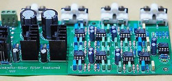Linkwitz-Riley 3-way electronic crossover 310Hz 3.1KHz shunt reg psu stereo !