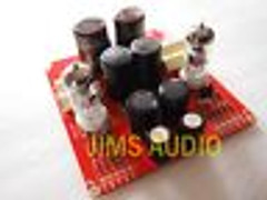 Bal/unbal input tube preamplifier stereo !