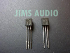 2SK163 low noise FET NEC extremely rare NOS 1 pair !!