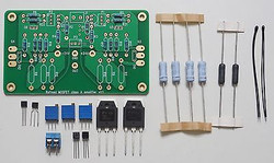 Mosfet 25W F5 class A amplifier w/ improved symmetry partial assembled kit !