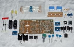 Servo regulated OPA2604 low distortion low noise opamp stereo preamplifier  kit!