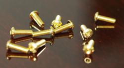 Gold-plated hexagon socket button M3 screws 10 pieces   !