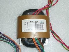 R-core transformer 50VA i/p 220VAC o/p 20Vx2 0.6A 15Vx2 0.6A  12V 0.6A 1 pc !