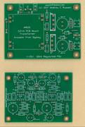 hifisonix accurate RIAA EQ amplifier board + PSU PCB 1 set !