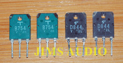 2SD844/2SB754 match quad set for Hiraga monstre and other power amp project !