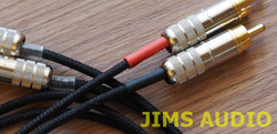 Duelund dual DCA20GA interconnect cable stereo 1m Switchcraft 3502 Kester44  w/ burn-in !