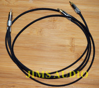 Duelund dual DCA16GA interconnect cable stereo 1m Switchcraft 3502 Kester 44 w cable burn-in !