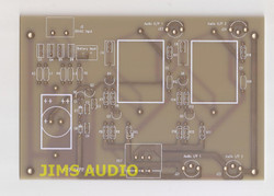 V-FET 2SK79 SRPP stereo preamp board based on Yasui design