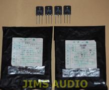 Toshiba 2SK1529/J200 power mosfet matched quad set !