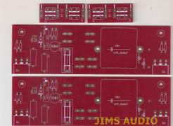 Mofo choke loaded SE power amp tube driver/power amp board by Andrea Ciuffoli !