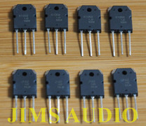 Renesas lateral MOSFET matched 2sk1058/J162 4 pair for DIY Telos !