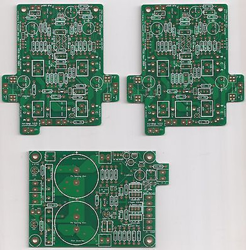 100Wx2 Ovation nx Current Feedback Amplifier PCB set new version 2.0 !