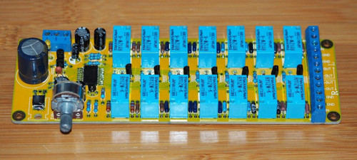 128 steps balanced in/out stereo volume control kit w/ highly reliable relays !!