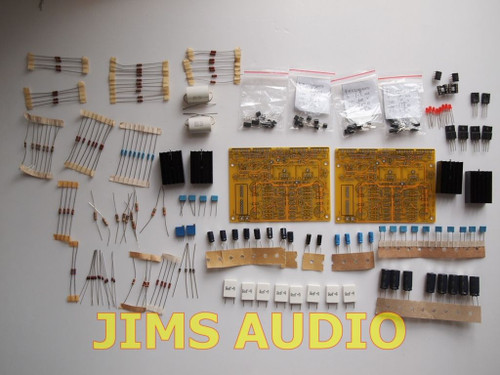 Diamond buffer input CFB high speed stereo power amplifier kit !