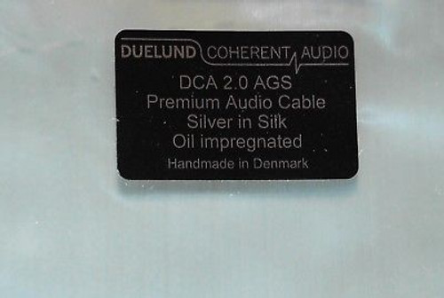 Duelund 2.0 version bulk silver wire sell at per meter !!
