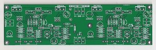 80W Class AB/B Power Amplifier PCB 1 piece based on blameless architecture !