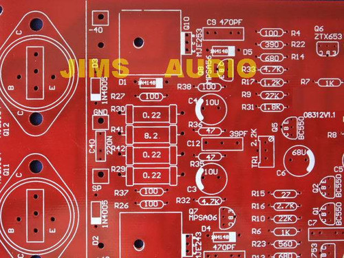 50W amplifier PCB Naim 140 !!