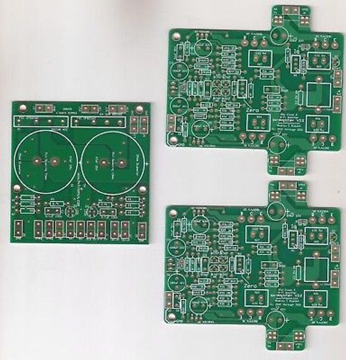 15Wx2 class A 25Wx2 class AB Ovation sx-Amplifier 2.0 Current Feedback PCB set !