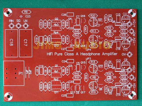 Borbely J-FET input diamond buffer output stereo preamp PCB one piece