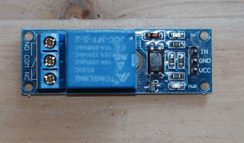 10A relay remote switch for amplifier optically isolated one piece !
