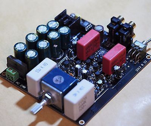 Class A output preamplifier stereo NAC 42.5 w/servo regulator assembled !