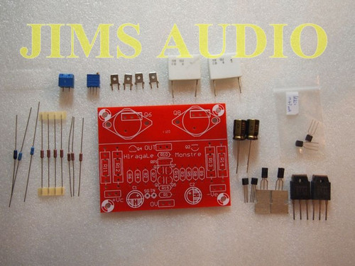 Hiraga Monstre 9W-15W pure sound Class A amplifer kit