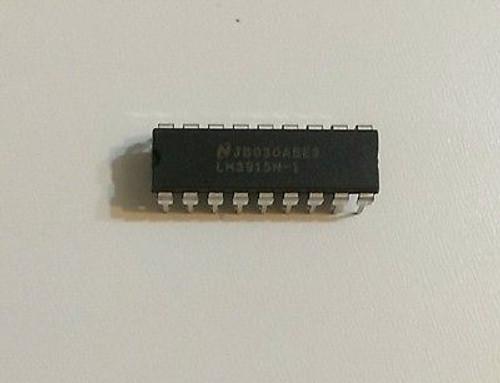 LM3916N Dot/Bar Display Driver 1 pc !!