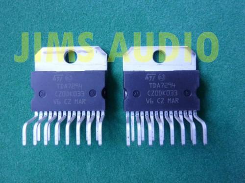 TDA7294 100V 100W DMOS power amplifier IC 2 pcs !!