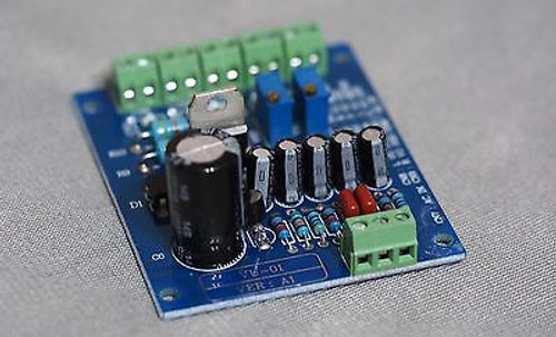 VU meter driver board stereo with backlite voltage output !!