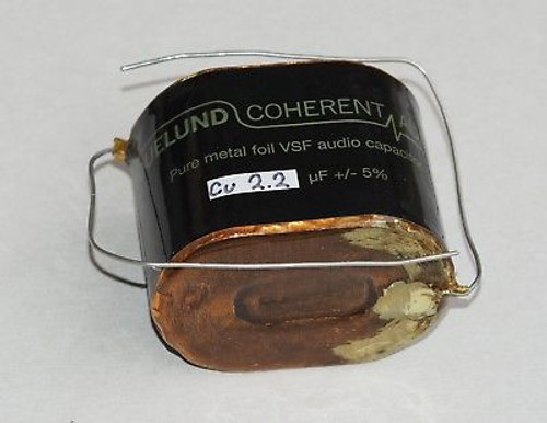 Duelund 2.2uF 400V VSF DC Copper Capacitor one piece !
