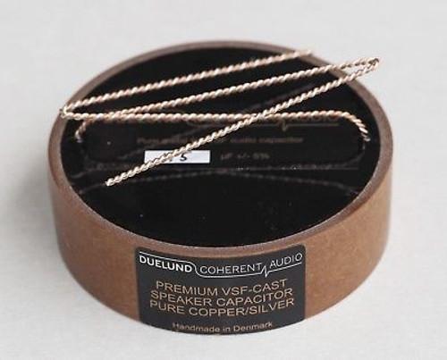 Duelund 100Vac-200Vdc CAST-Cu/Ag Hybrid capacitor 1.5uF 1pc