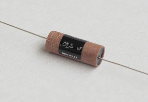 Jupiter 0.022uF 600V Round Copper Wax&Paper with 20awg silver leads