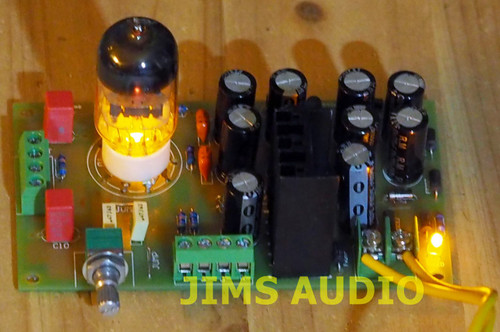 Tube buffer 6N3 stereo assembled w/WIMA output caps !31.99