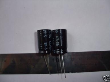 3300uF 50V 105C Electrolytic capacitor  2pc Matsushita Panasonic