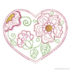 Heart Headband Slider - Embroidery Designs