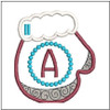 Mitten ABC's - A - In the Hoop - Embroidery Design