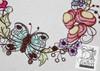 30% Off - Vintage Finch, Tea & Floral Quilt Block Bundle - Embroidery Designs