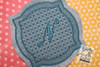 """Motif Knockdown Decorative Edge Frame 2 - Fits 4x4, 5x7, 7x11 and 8x8"""" Hoop - Instant Downloadable Machine Embroidery"""