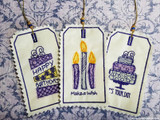 Birthday Tags 'In the Hoop' Tutorial - An Easy Project!