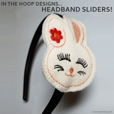 Creating Your Own Embroidered Headband Slider Tutorial!