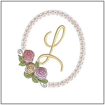 Rosabella Font ABCs - L - Embroidery Designs